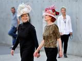 Tournage Sortie d'usine : Isabella Rossellini et Marisa Paredes