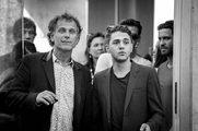 Tournage Sortie d'usine - Charles Berling et Xavier Dolan