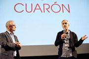 Thierry Frémaux et Alfonso Cuarón