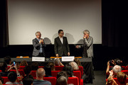 Thierry Frémaux, Tiong Guan Saw et Christopher Doyle
