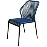 Chaise-scoubidou-fil-bleu