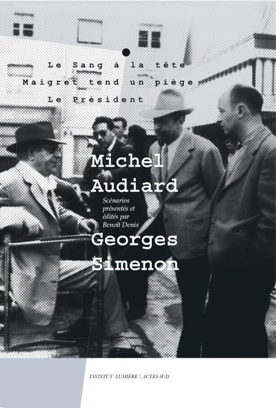 Miche Audiard Georges Simenon Couv