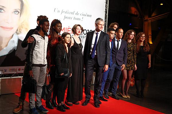 Laurent Wauquiez et la Ciné Fabrique