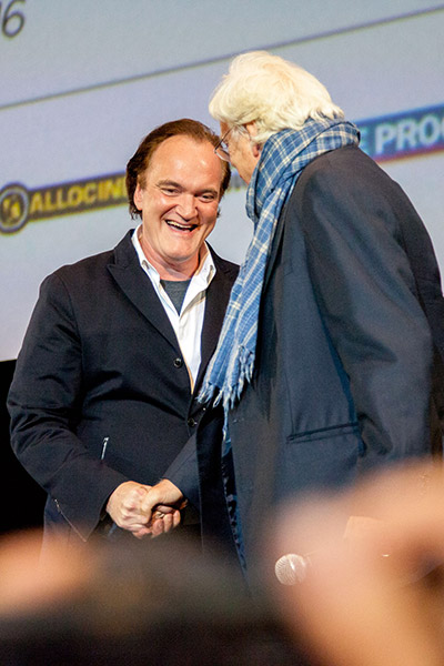 Quentin Tarantino et Bertrand Tavernier