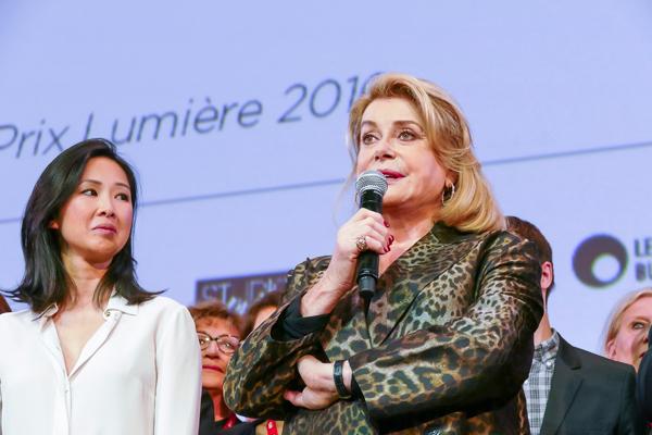 Catherine Deneuve et Linh-Dan Pham