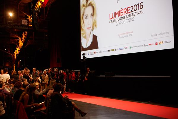Halle Tony Garnier, séance de clôture du festival Lumière 2016