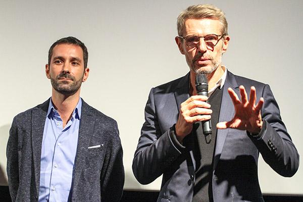 Mimmo Verdesca et Lambert Wilson - Institut Lumière