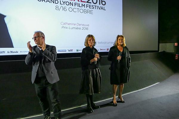 Nicole Garcia et Catherine Deneuve - Pathé Bellecour