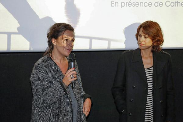 Delphine Gleize et Olivia Bonamy - CNP Bellecour