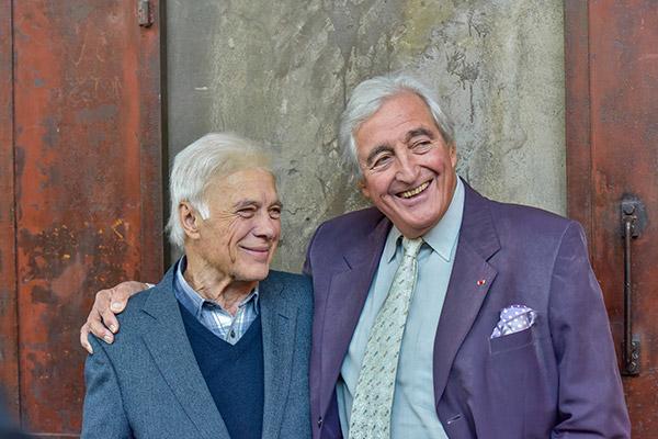 Guy bedos et Jean-Loup Dabadie - Hangar du Premier-Film