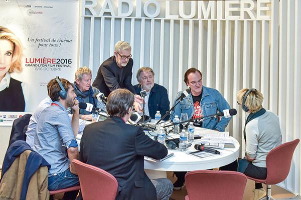 Régis Wargnier, Walter Hill et Quentin Tarantino - Radio Lumière