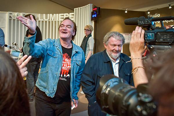 Quentin Tarantino et Walter Hill- Radio Lumière