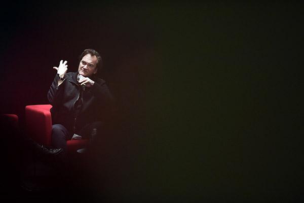 Master class Quentin Tarantino - Auditorium de Lyon