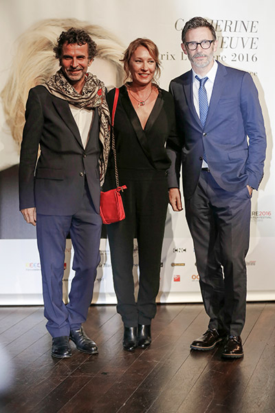 Eric Lartigau, Emmanuelle Bercot et Michel Hazanavicius