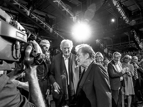 Bertrand Tavernier et Eddy Mitchell