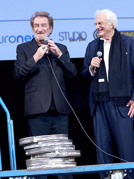 Eddy Mitchell et Bertrand Tavernier
