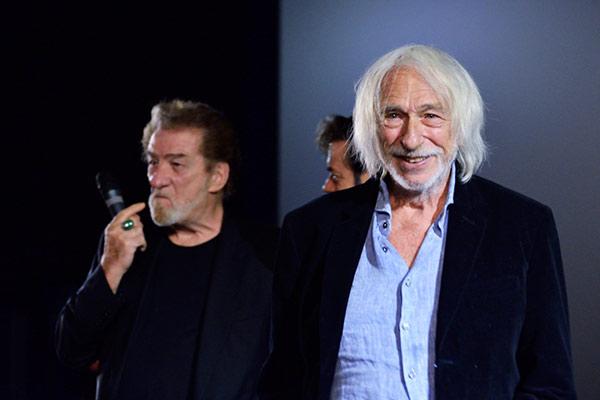 Eddy Mitchell et Pierre Richard