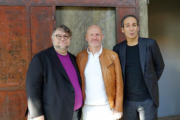 Guillermo Del Toro, Jean-Paul Salomé et Alexandre Desplat