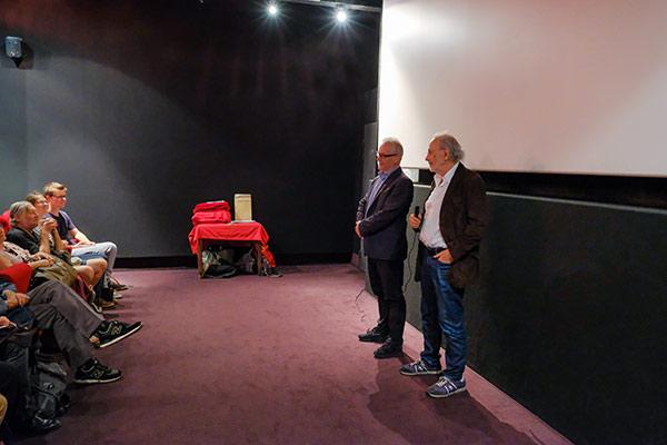 Thierry Frémaux et Jerry Schatzberg