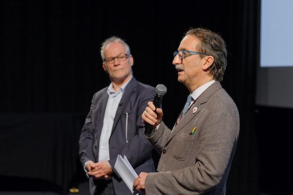 Thierry Frémaux et Gian Luca Farinelli