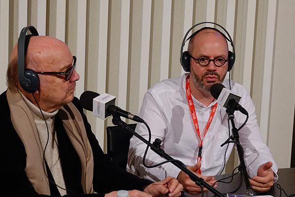 Jean-Paul Rappeneau et Jérôme Wybon