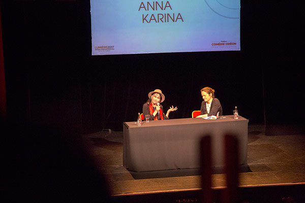 Rencontre avec Anna Karina