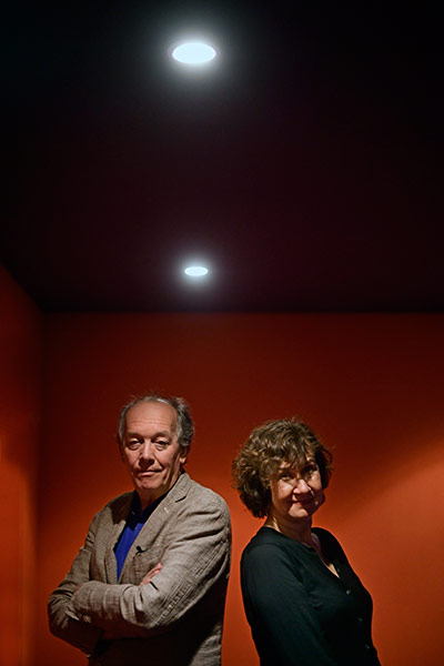 Luc Dardenne et Anne Le Ny