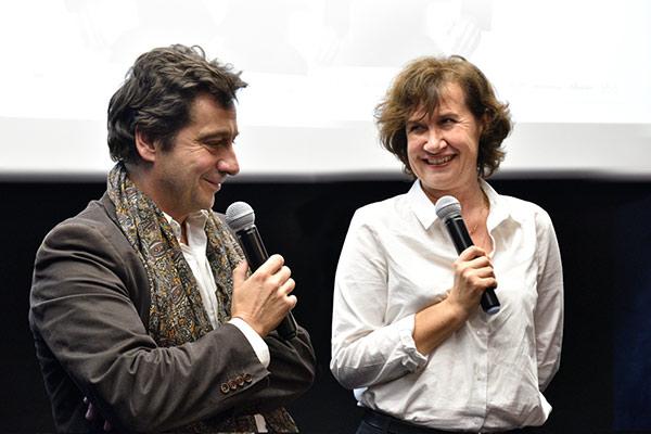 Laurent Gerra et Anne Le Ny