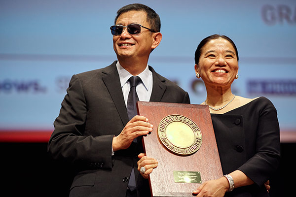 Wong Kar-wai et sa femme, Esther