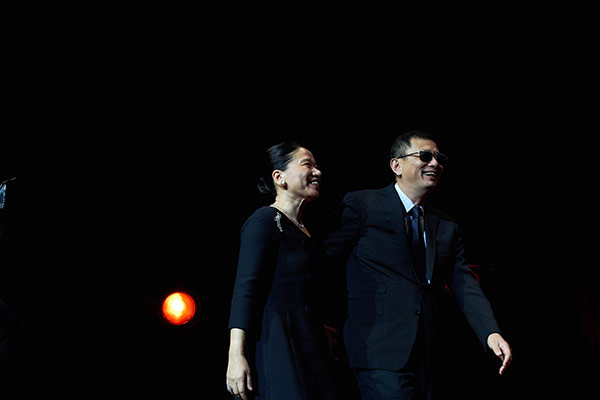 Esther et Wong Kar-wai