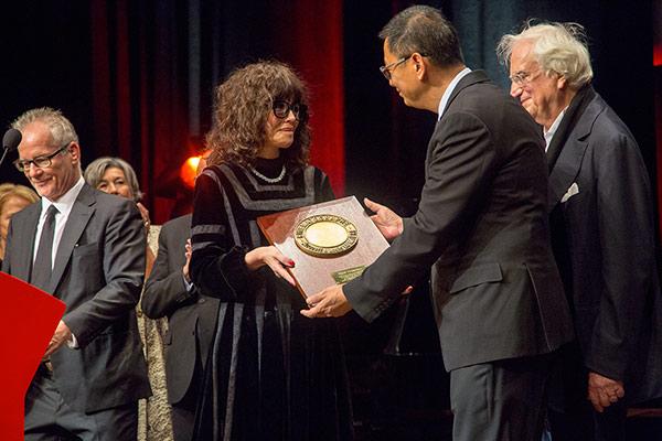 Isabelle Adjani et Wong Kar-wai