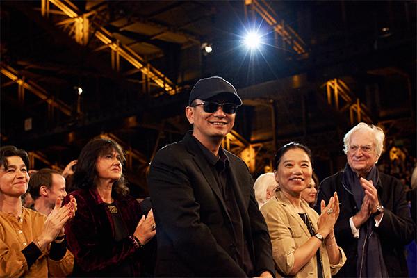 Wong Kar-wai, Esther Wong et Bertrand Tavernier