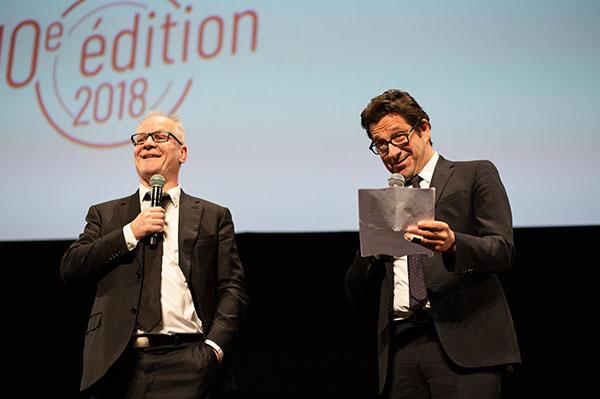 Thierry Frémaux & Laurent Gerra