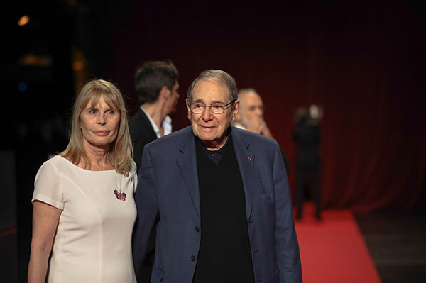 Candice Patou & Robert Hossein
