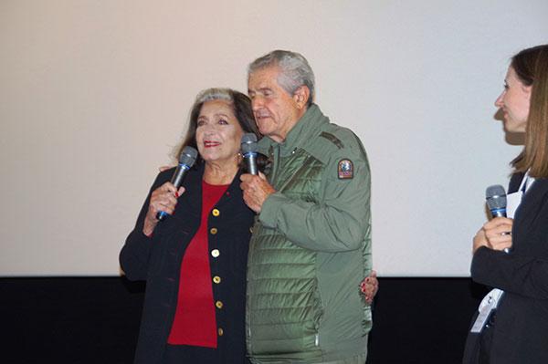 Françoise Fabian & Claude Lelouch