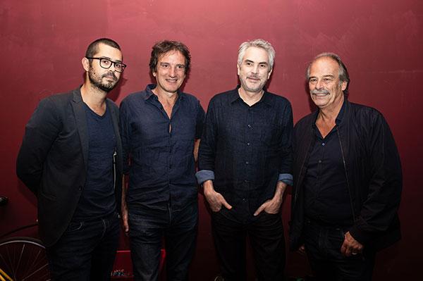 Cyril Bron, Christophe d'Yvoire, Alfonso Cuaron & Jean-Pierre Lavoignat