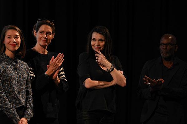 Claire Tran, Béatrice Dalle & Alex Descas
