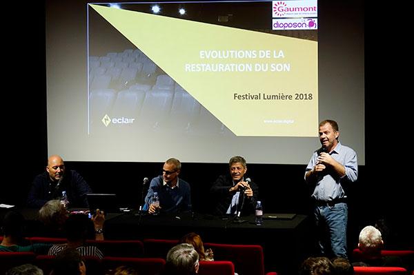 André Abbouz de Gaumont, Léon Rousseau & Ronald Boullet d'Éclair