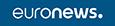 Logo Euronews Horizontal White On Blue 2020