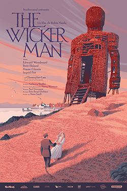 Wicker Man Affichebis