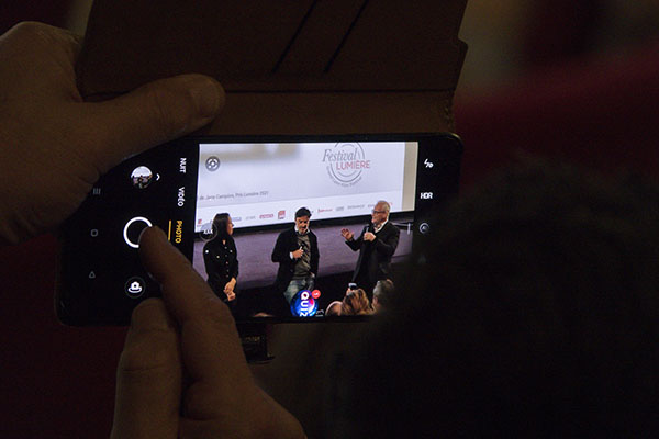 Suzanne Jouannet, Yvan Attal et Thierry Frémaux