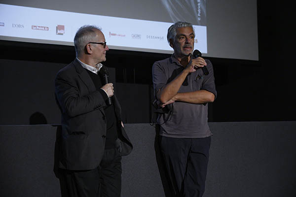 <span style='display:inline-block; background-color:#DF071E; width: 100%;padding:5px;'>Thierry Frémaux et Pedro Costa</span>